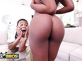 Lil D Finds Noemi Bilas Masturbating, Her Get On That big Dick