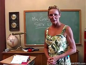 Horny fucks her pussy and sucks cock