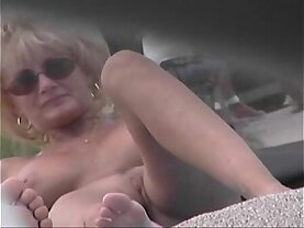Nude Beach Voyeur Video Cougar MILF Naked At The Nude Beach