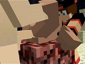 Minecraft Group Sex Animated