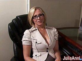 Milf Julia Ann Dreams About Sucking big black Cock!