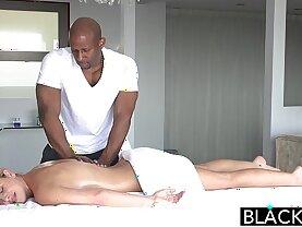 BLACKED Hot Southern Blonde Takes Big Black hard Cock