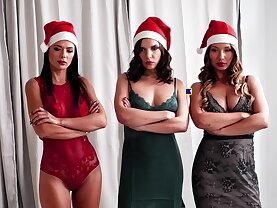 Naughty girls for santa